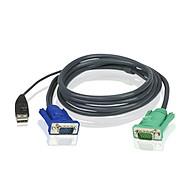Cáp kết nối KVM Aten 2L-5201U Chuẩn USB 1.2 mét - Hàng chính hãng thumbnail