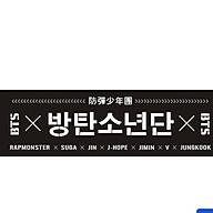 Banner cổ vũ BTS BigHit có tặng kèm sticker BTS thumbnail