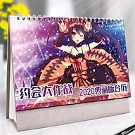 (Lịch 2020) Lịch để bàn Date A Live in ảnh đẹp anime chibi idols tặng ảnh thiết kế Vcone thumbnail