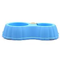 Bát ăn cho chó mèo xuống nước tự động (màu ngẫu nhiên, không kèm bình nước) thumbnail
