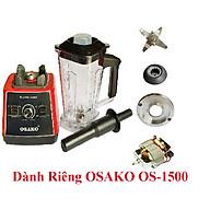 Linh kiện thay thế của máy xay sinh tố công nghiệp osako OS-1500, công suất 1500W, chọn phân loại, cối màu ngẫu nhiên-Hàng chính hãng thumbnail