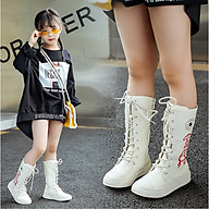 Giày bốt nữ cá tính cho bé gái BOT05 thumbnail