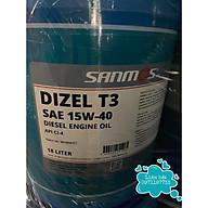 DẦU ĐỘNG CƠ SANMOS DIZEL T3 SAE 15W - 40 API CI4 thumbnail