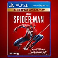 Đĩa Game PS4 Marvel Spider Man Game Of The Year Edition - Hàng Chính Hãng thumbnail