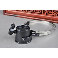 Kính lúp đeo mắt phóng đại 15X hỗ trợ sửa chữa điện tử đa năng có đèn ( Tặng kèm 02 móc treo đồ dán tường chịu lực ngẫu nhiên ) thumbnail