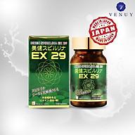 Tăng Sức Đề Kháng Cho Bé 8 Tuổi Đến Người Lớn 65 Tuổi Cùng Viên Uống Biken Spirulina EX 29 Nhật Bản - Cải Thiện Hệ Miễn Dịch, Tiêu Hóa Chắc Khỏe, Bổ Sung Năng Lượng, Phục Hồi Thể Lực, Da Đẹp - Hàng Chính Hãng Sunsho Pharmaceutical thumbnail