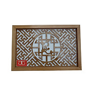 Tấm chống ám khói hương bàn thờ mẫu không chữ lộc mầu vàng Tháng Tháng Thuân ( nhiều kích thước)-TL301 thumbnail