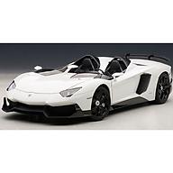 Xe Mô Hình Lamborghini Aventador J 1 18 Autoart - 74674 (Trắng) thumbnail