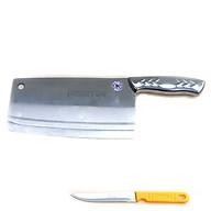 Dao chặt xương inox cực bén cao cấp DX01 tặng dao bếp gọt trái cây Gia dụng bếp thumbnail