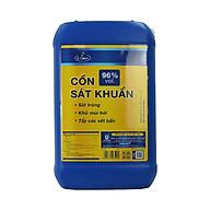 Cồn sát khuẩn 96% Vol. can 25 lít pha loãng trước khi dùng [Tặng bình xịt dung tích 500ml + 20 khăn ướt tẩm cồn] thumbnail