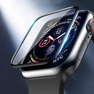 Miếng dán cường lực Hoco Full 3D cho Apple Watch Series 6 Apple Watch SE Series 5 4 (Size 40 44mm) - Hàng Nhập Khẩu thumbnail