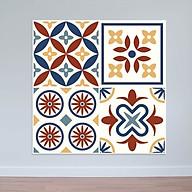 Decal dán tường nhà bếp hoa văn cổ điển WD148 thumbnail