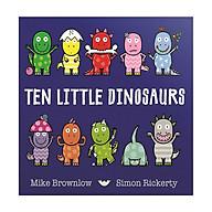 Ten Little Dinosaurs (Ten Little Series) (Board Book) thumbnail