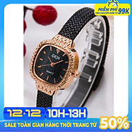 Đồng Hồ Nữ GEDI GE11003 Dây Titanium Siêu Nhẹ Cao Cấp - Thiết Kế Mặt Vuông Hàn Quốc Sang Chảnh - Máy Quatz Nhật Siêu Bền, Chống Nước Siêu Tốt 3ATM - Phụ Kiện Thời Trang Nữ Siêu Hot thumbnail