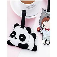 Thẻ hành lý, thẻ tên vali Cậu Bé và Gấu trúc (Combo 2 thẻ) thumbnail