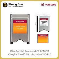 Đầu đọc thẻ nhớ CF sang PCMCIA Transcend - CF Compact Flash PCMCIA - Hàng Chính Hãng thumbnail