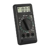 Đồng hồ vạn năng DT-182 (đo điện áp, điện trở, pin...) - Tặng kèm móc khóa tô vít mini thumbnail