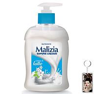 Nước rửa tay Malizia Cream Milk 300ml tặng kèm móc khóa thumbnail