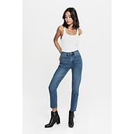TheBlueTshirt - Ankle Crop Jeans - Quần Jeans Ống Vừa Xanh Đậm thumbnail