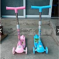 Xe trượt Scooter mẫu mới 2019 (hàng Cao cấp có giảm xóc + phanh chân)- màu cho bé gái thumbnail