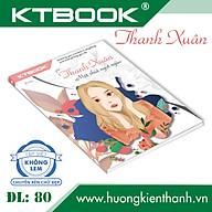 Gói 10 cuốn Tập Học Sinh Cao Cấp Thanh Xuân KTBOOK giấy trắng không lem ĐL 80 gsm - 96 trang thumbnail