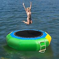 Phao hơi trampoline water kinhbactoy phao nhún trampoline trên nước siêu hấp dẫn 2021 thumbnail