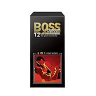 Bao Cao Su Boss 12s 4in1 Nhiều gai gân Kéo Dài Thời Gian thumbnail