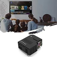 Máy Chiếu Mini Led Projector UC28C Dùng Cho Gia Đình Độ Sáng 50 Lumens Cho Kích Thước Màn Hình Từ 10 - 60 Inchs thumbnail