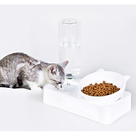 Bộ Chén ăn Bình nước cho chó mèo thumbnail
