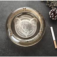 Gạt tàn thuốc thủy tinh pha lê cao cấp ( hình Thiên Thần) thumbnail