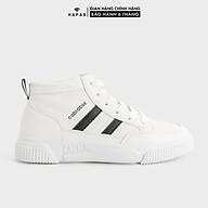 Giày Sneaker Nữ Cổ Cao 2 Sọc 2p - GSK282 thumbnail