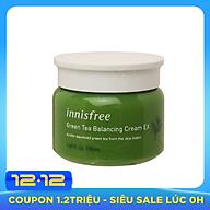 Kem Dưỡng m Từ Trà Xanh Đảo Jeju Innisfree Green Tea Balancing Cream EX 50ml thumbnail