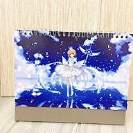 Lịch anime chibi 2020 Cardcaptor Sakura Thủ lĩnh thẻ bài để bàn tặng ảnh thiết kế Vcone thumbnail