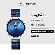 Đồng Hồ Nữ PAGINI Alice Dây Titanium Cao Cấp Full Box thumbnail