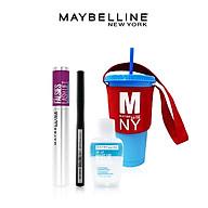 Bộ Trang Điểm Mắt Chuẩn Salon (Mascara Falsie Lash Lift + Bút Kẻ Mắt Nước Lâu Trôi 36H Line Tattoo High Impact Liner + Tẩy Trang Mắt Môi 40ml + Ly nhựa đổi màu) thumbnail