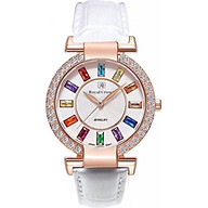 Đồng hồ nữ chính hãng Royal Crown 4604ST - RG trắng thumbnail