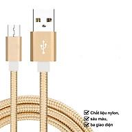 Saunaroom cáp sạc truyền dữ liệu tốc độ cao Cổng Micro USB cho dòng Android, iOS, type-c-Sản phẩm nhập khẩu thumbnail