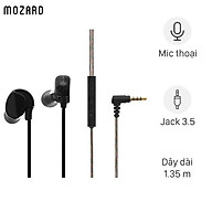 Tai nghe nhét tai dual driver EP Mozard S80 Đen - Hàng Chính Hãng thumbnail
