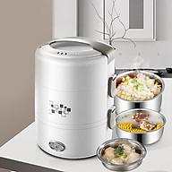 Hộp cơm cắm điện - nấu chín và hâm nóng thực phẩm thumbnail