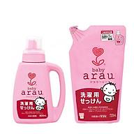 Combo Nước Giặt Arau Baby (Bình 800ml + Túi 720ml) thumbnail