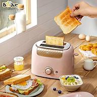 Máy nướng bánh mì 6 cấp độ, 2 khe nướng BEAR DSL-601 (Bản Quốc Tế) BH 18 Tháng thumbnail