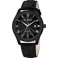 Đồng hồ Nam CUENA C868 lịch ngày sang trọng lịch lãm, chống nước sinh hoạt , đồng hồ đeo tay dây da PU cao cấp thumbnail