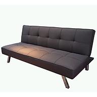 Sofa Bed Vải Bố Màu Nâu Sang Trọng_Chân Inox Chắc Chắn_Dài 1680 x 960 thumbnail