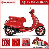 CHỈ GIAO TẠI HẢI PHÒNG - Xe máy Vespa PRIMAVERA RED 125 cc thumbnail