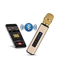 Micro Karaoke không dây, Loa không dây thiết kế hai hòa một - Hàng Chính Hãng PKCB204 thumbnail