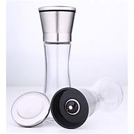 Dụng cụ xoay tiêu inox 304, thủy tinh - 19x5.3g 285g 200ml thumbnail