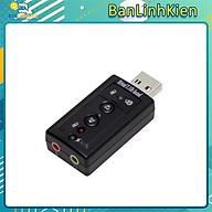 Bộ chuyển đổi âm thanh từ USB sang 3.5 Card Sound Chuyển Đổi Âm Thanh USB thumbnail