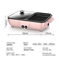 Bếp nướng lẩu 2 in 1 Mini Hàn Quốc - Bếp Điện Đa Năng Cofy -Nồi Đôi Mini Nướng và Lẩu Cofy 2 trong 1 thumbnail