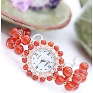 Đồng Hồ Mix Đá Mã Não Đỏ DHN08 Bảo Ngọc Jewelry thumbnail