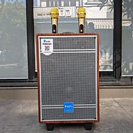 Loa kéo AZPro AZ 310 - Loa kéo di động 3 đường tiếng bass 2.5 tấc - Tặng kèm 2 micro không dây - Công suất lên đến 350W - Có remote, đầy đủ kết nối Bluetooth, AV, USB, SD card - Cổng 6.5 cắm micro ngoài - Âm thanh cực chuẩn - Hàng nhập khẩu thumbnail